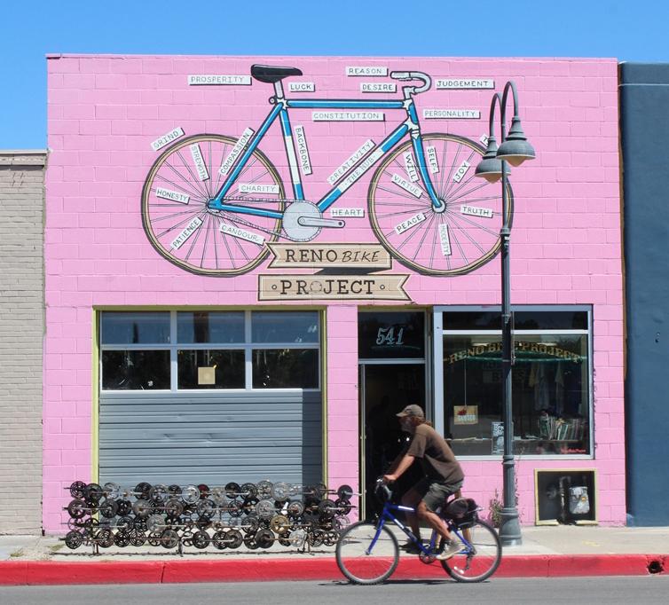 Reno Bike Project. Photo by Alicia Barber.