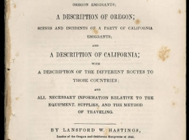 the fate of the donner party demonstrated