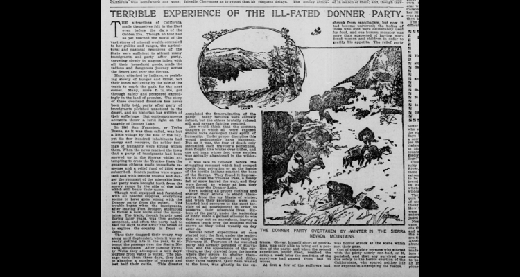 donner party research paper Read this psychology essay and over 88,000 other research documents cannibalism there are so many bad things in the world but according to many, cannibalism is considered just about the worst.