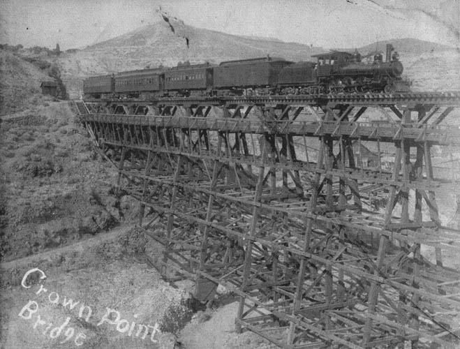 Virginia And Truckee Railroad One